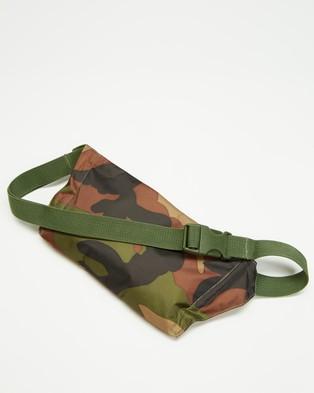 Herschel Explorer Pouch - Bum Bags (Woodland Camo)