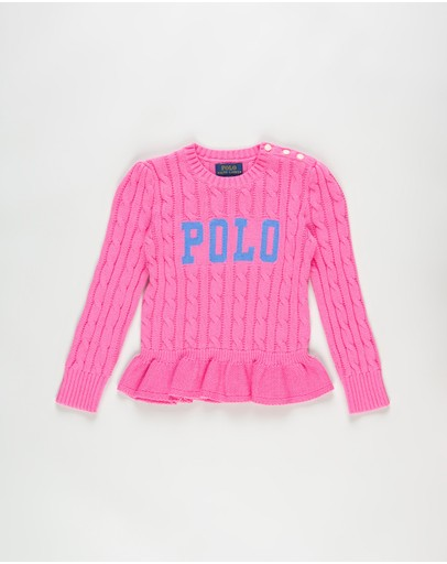 Polo Ralph Lauren - Polo Cable Sweater - Kids
