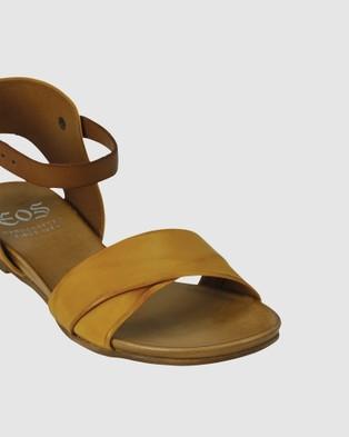 Eos Larnia Sandals Yellow-Orange