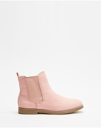 Cotton On Kids - Scallop Gusset Boots - Kids