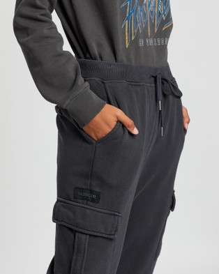 All About Eve Combat Trackpants - Sweatpants (CHARCOAL)