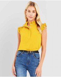 Forcast - Annie Frill Top