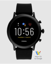 Fossil - The Carlyle HR Black Gen 5 Smartwatch