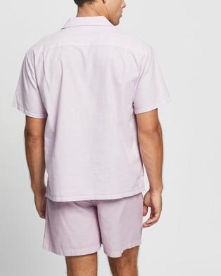 Double Rainbouu SS Hawaiian Shirt - Casual shirts (Lavender)