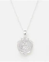 Chained & Able - St Christopher Detail Medallion