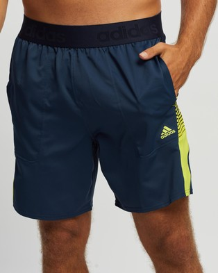 adidas Performance Designed 2 Move Activated Tech AEROREADY Shorts Crew Navy