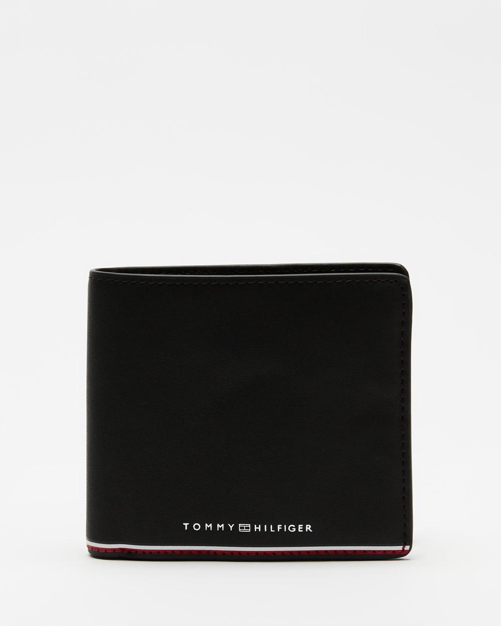 Tommy Hilfiger Commuter Trifold Wallet Wallets Black Australia