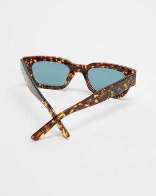 AKILA - Zed Sunglasses (Tort, Viridian & Silver)