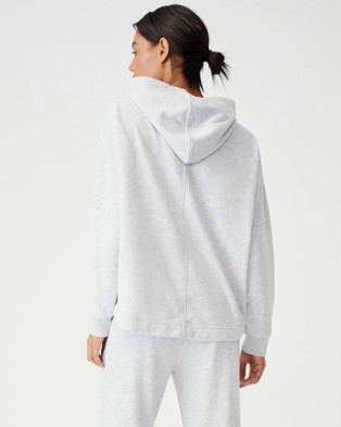 Cotton On Body Active Lifestyle Relaxed Hoodie Hoodies Grey Marle