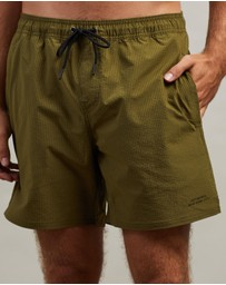 Saturdays NYC - Timothy Seersucker Swim Shorts