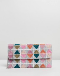 From St Xavier - Triangle Foldover Clutch