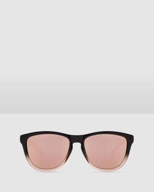 Hawkers Co Fusion Rose Gold ONE - Sunglasses (Black)