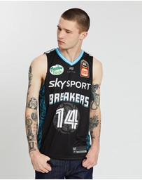 First Ever - NBL - New Zealand Breakers 19/20 Authentic Home Jersey - RJ Hampton