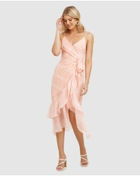 Cooper St - Wild Heart Knot Detail Drape Dress