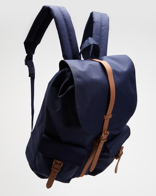 Herschel Dawson - Backpacks (Peacoat & Saddle Brown)