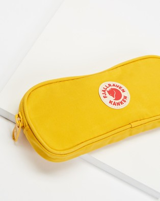 Fjallraven Kanken Pen Case - All Stationery (Warm Yellow)