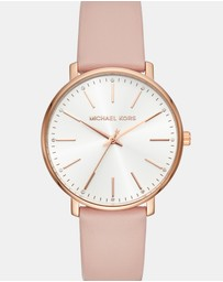 Pyper Pink Analogue Watch