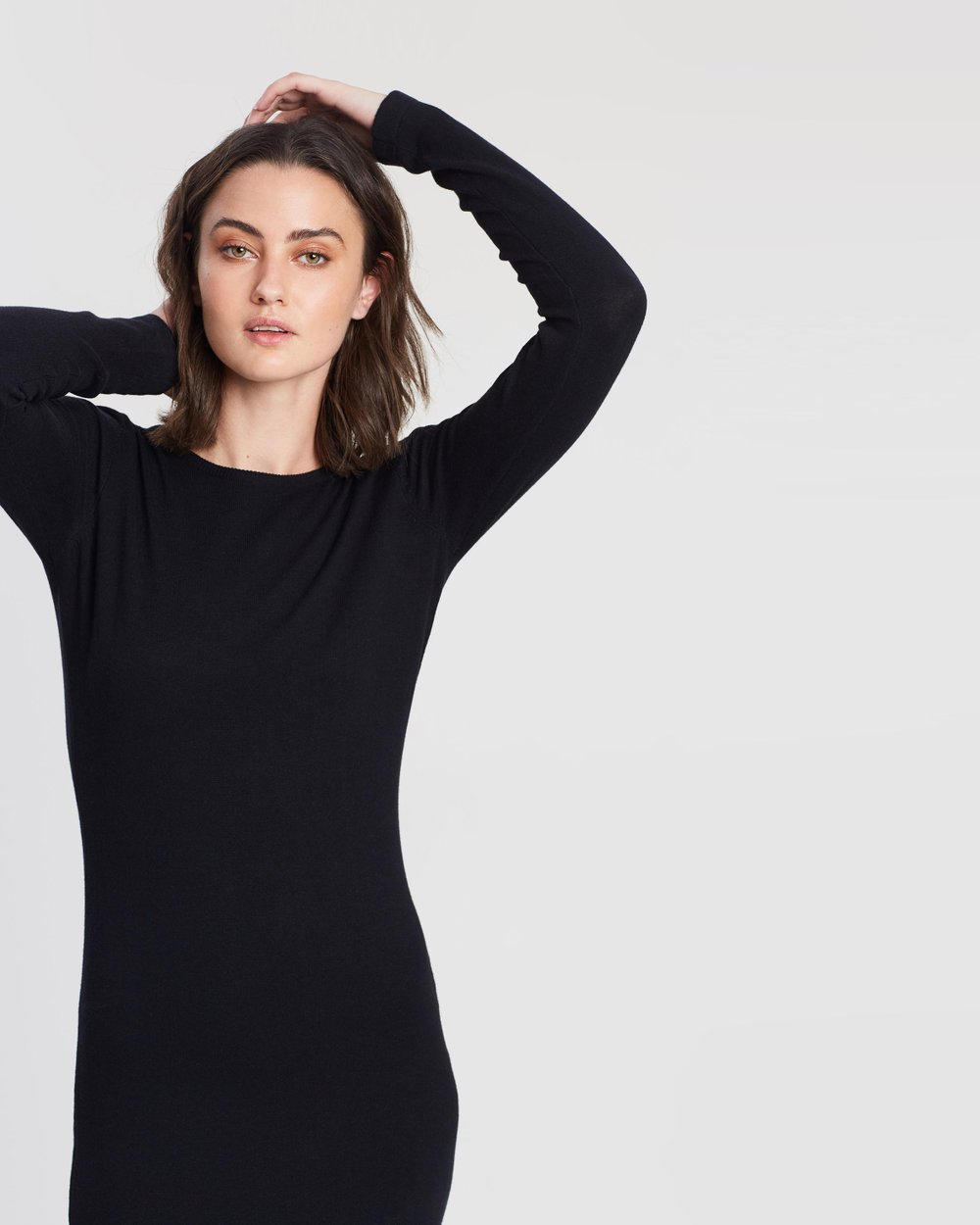 b8cb004ab28 Plain Bodycon Dress with Long Sleeves by Dorothy Perkins Online ...