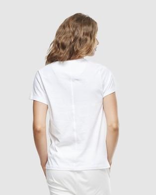 Cloth & Co. - Organic Cotton Classic V Neck - Short Sleeve T-Shirts (White) Organic Cotton Classic V Neck