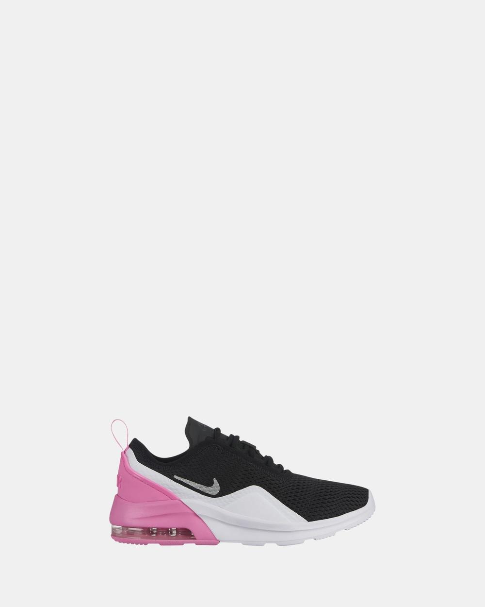 Nike - Air Max Motion 2 Grade School - Sneakers (Black Pink White) Air Max  Motion 2 Grade School 1856b00b2df1d