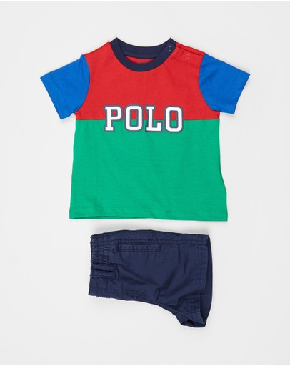 Polo Ralph Lauren - Cotton Jersey Short Set - Babies