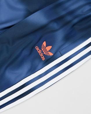 adidas Originals Allover Print Camo SST Pants   Kids Teens - Pants (Crew Blue, Multicolour & White)