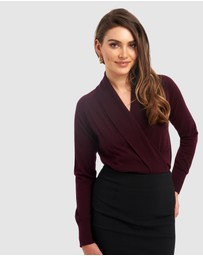 Forcast - Ariella Crossover Knit