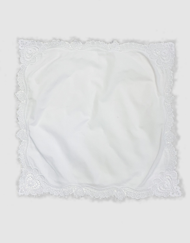 Women Bridal Embroidered Handkerchief