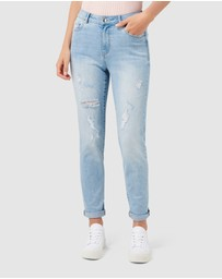 Forever New - Emmy Mid Rise Girlfriend Jeans