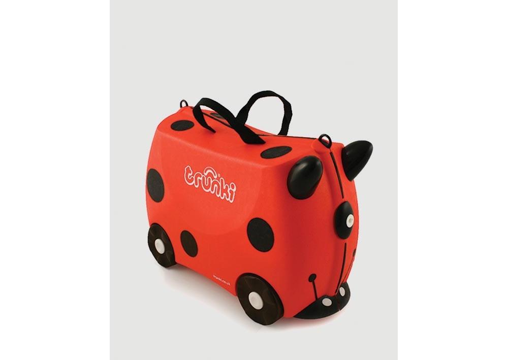 Trunki Suitcase Travel and Luggage Harley Ladybug