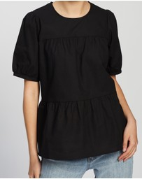 Atmos&Here - Modena Cotton Tiered Top