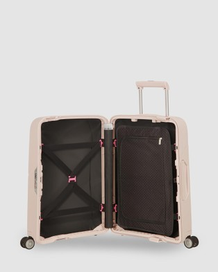 Samsonite Magnum Spinner 55 - Travel and Luggage (Soft Rose )