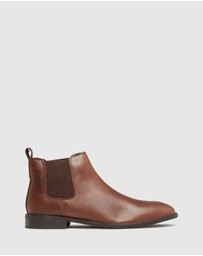 Oxford - Guss Oil Pull Up Chelsea Boots