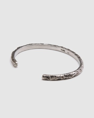 TOC The Raw Cuff - Jewellery (Silver)