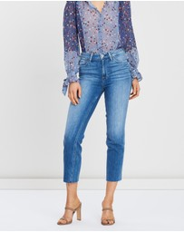 Paige - Hoxton Straight Ankle Jeans