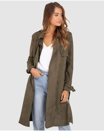 Madison The Label - Sienna Trench
