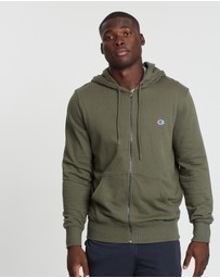 Champion - French Terry C Logo Zip Hoodie
