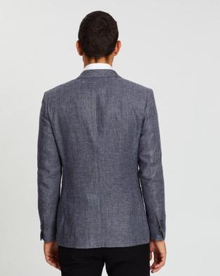 Farage Milan Tweed Jacket - Blazers (Navy)