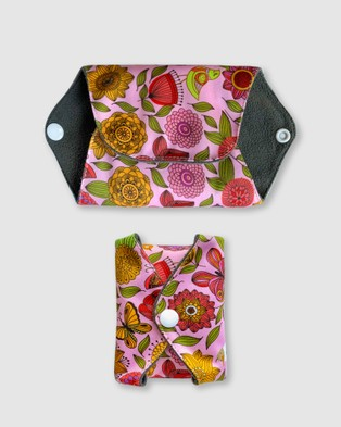 B Free Intimate Apparel Day & Night Reusable Stay Dry Leakage & Period Pads - Beauty (Pink Floral)