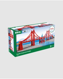 BRIO - Bridge - Double Suspension Bridge