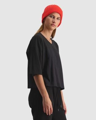 Huffer Bb Mesh Tee - T-Shirts & Singlets (Black)