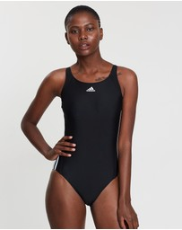 adidas Swim - Essence Core 3-Stripe One-Piece