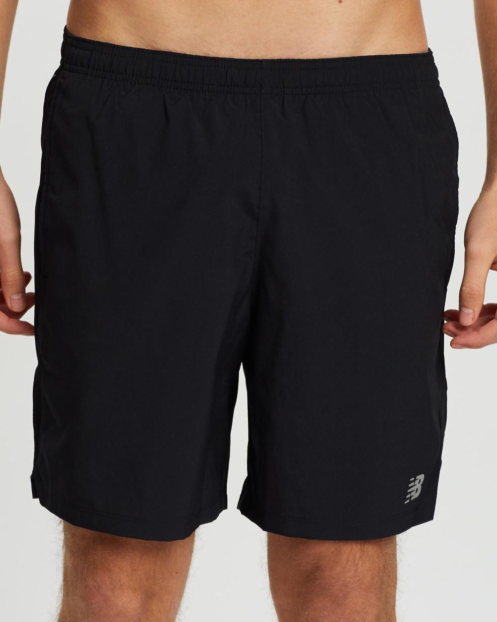 "New Balance Accelerate 7"" Shorts Black"