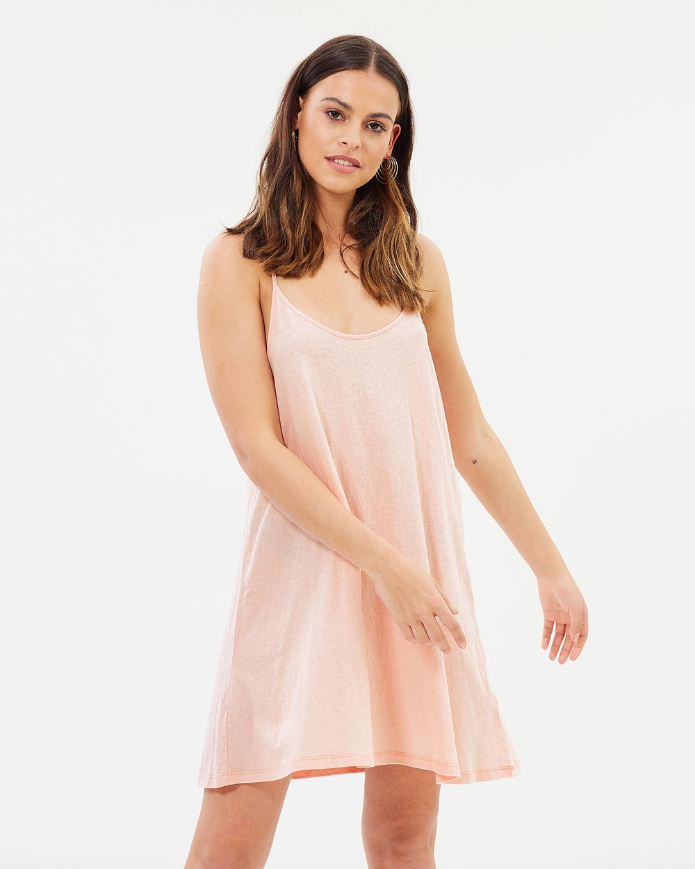 Rusty Bare Tank Dress Dresses Blossom Bare Tank Dress