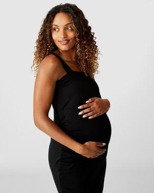 Cotton On Maternity Maternity Ruched Mini Dress - Dresses (Black)