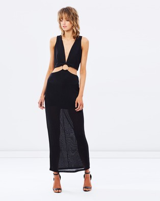Finders Keepers – Maxwell Maxi Dress – Dresses (Black)