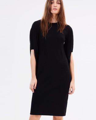 Gary Bigeni – Larissa Maxi Knit Dress Black