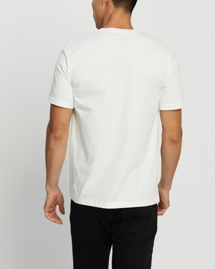 Fred Perry Graphic T Shirt - T-Shirts & Singlets (White)