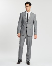 Tarocash - Malek Two-Button Check Suit