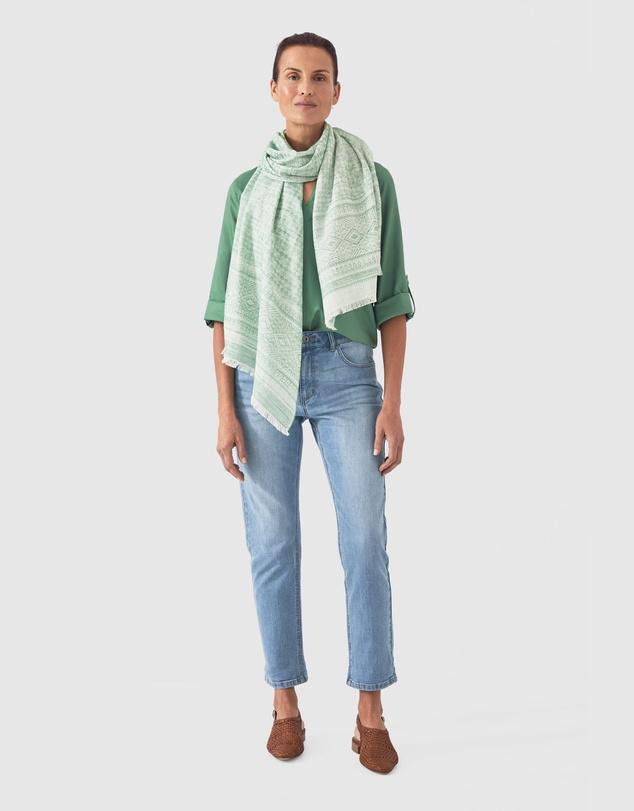 Women Cotton Modal Vent Neck Top